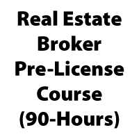 Real Estate Broker Pre-License (90-Hr)